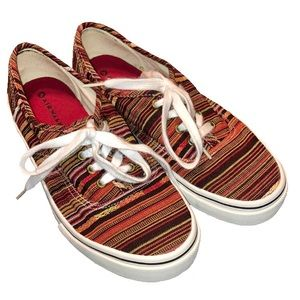 Airwalk Striped Skate Shoes Women's Sz 8.5